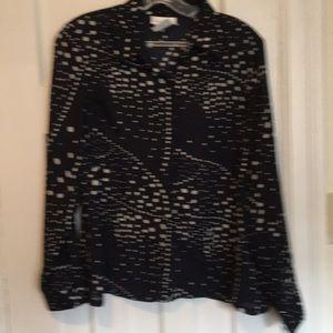Vanity fair long sleeve blouse